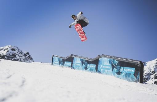 32. Kaunertal Opening läutete Snowpark-Saison ein