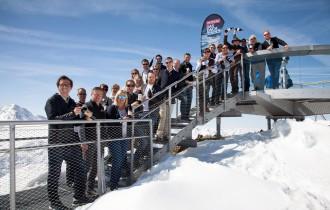 Top-Winzer auf Tirols höchstem Gletscher