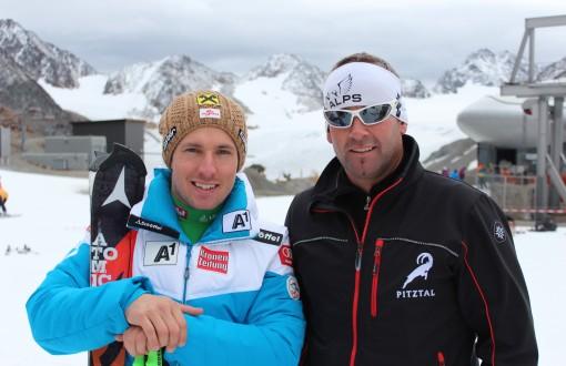 Ski Weltelite versammelt sich im Pitztal