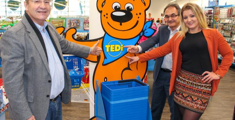 Erster TEDi Großmarkt Tirols eröffnete im west