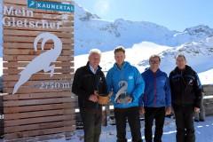 Partnerschaft Kaunertaler Gletscher und Folgefonna