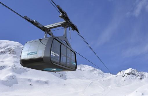 """Erste """"100er-Funifor"""" Seilbahn Österreichs am Kaunertaler Gletscher"""