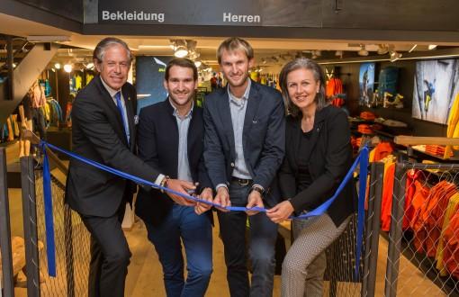 Salewa eröffnet neuen Shop bei Sportler Alpin Innsbruck