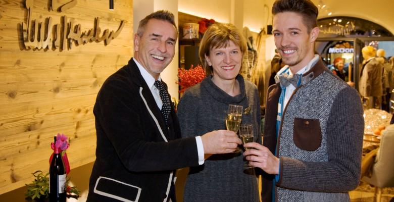 Grias di Tirol!  LUIS TRENKER eröffnet seinen neuen Shop in Innsbruck