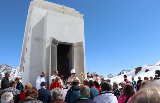 Tourismus Dankgottesdienst am Pitztaler Gletscher