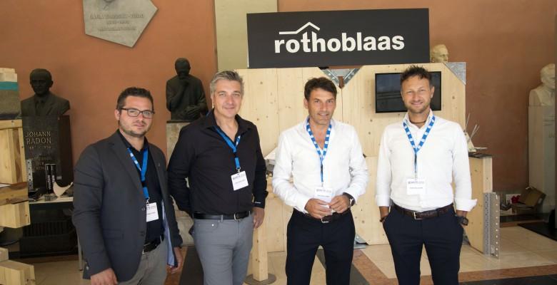 Rotho Blaas auf weltgrößtem Holzbaukongress
