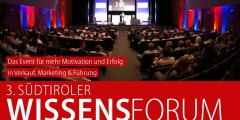 Brandmedia ist Partner des Südtiroler Wissensforums