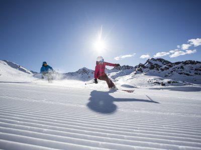 Kaunertaler Gletscher Skilauf