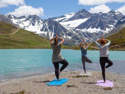 Yoga am Rifflsee_Bergsommer ©Pitztaler Gletscherbahn (32)