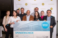 EKZ west: Mitarbeiterfest mit Spendenaktion