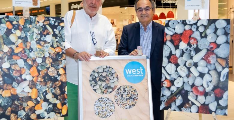 Doppelausstellung im EKZ west eröffnet